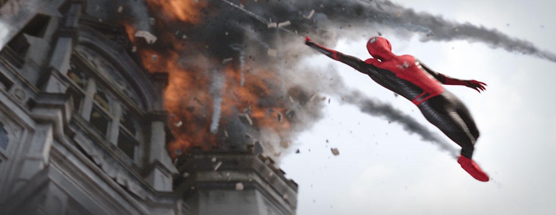 IMAX发布《蜘蛛侠:英雄远征》主创采访特辑